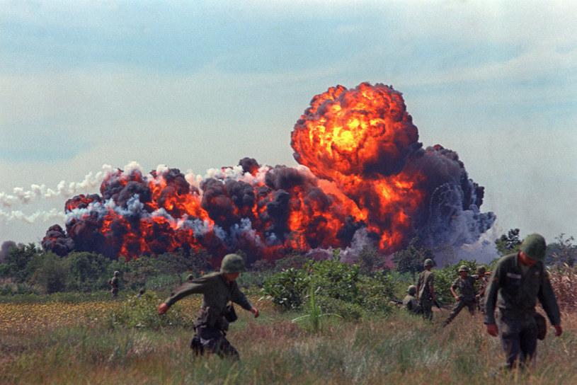 Napalm zyskał sławę w Wietnamie, gdzie był podstawową bronią taktyczną Amerykanów /Getty Images/Flash Press Media