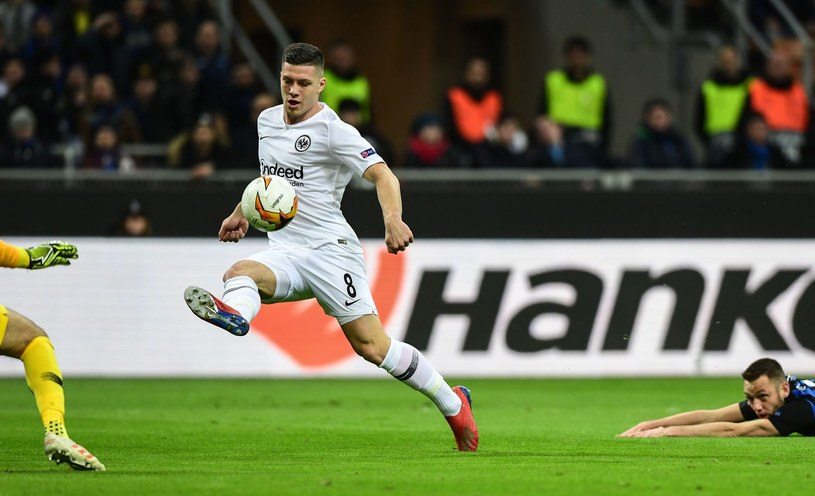 Napastnik Eintrachtu Frankfurt Luka Jović /AFP