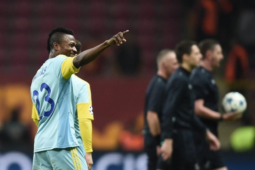 Napastnik FK Astana Patrick Twumasi /AFP