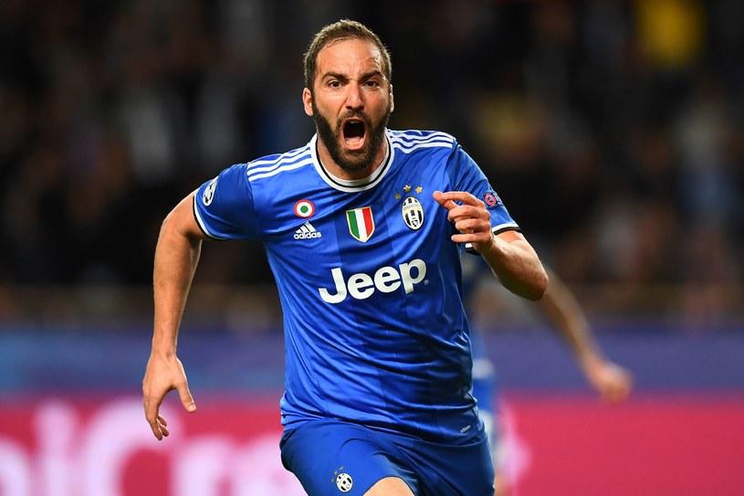 Napastnik Juventusu Gonzalo Higuain /AFP