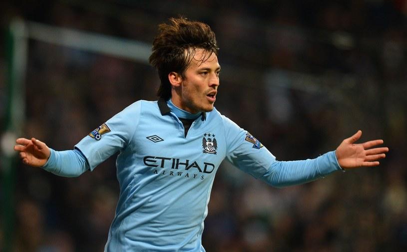 Napastnik Manchesteru City - David Silva. /AFP