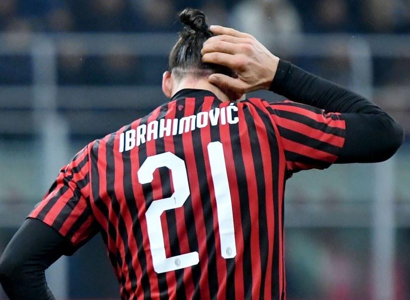 Napastnik Milanu Zlatan Ibrahimović /AFP