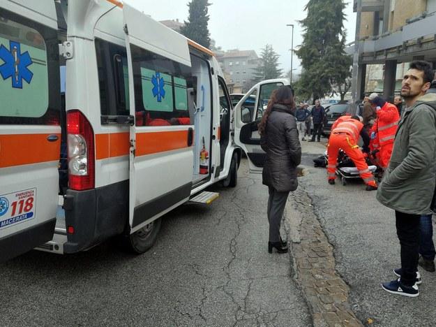 Napastnik ranił kilka osób /GUIDO PICCHIO /PAP/EPA