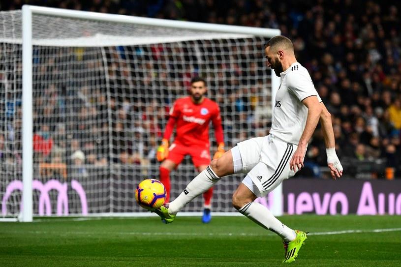 Napastnik Realu Madryt Karim Benzema jest ostatnio w wysokiej formie /AFP