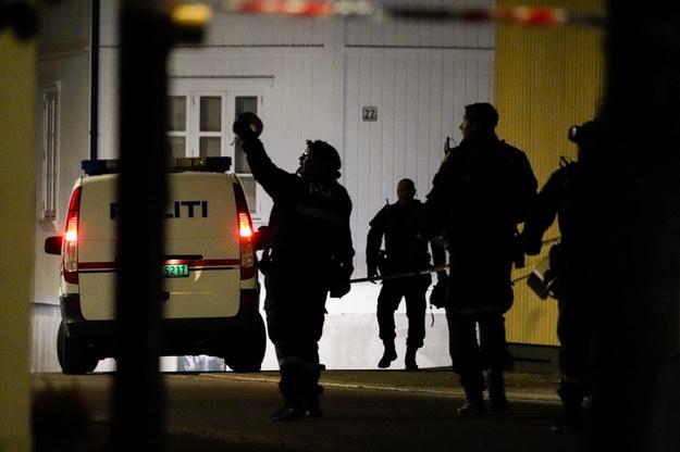 Napastnik strzelał do ludzi z łuku /HAKON MOSVOLD LARSEN NORWAY OUT /PAP/EPA