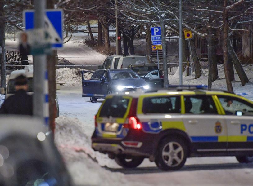 Napastnik uciekł z miejsca zdarzenia samochodem /Jessica Gow  /AFP