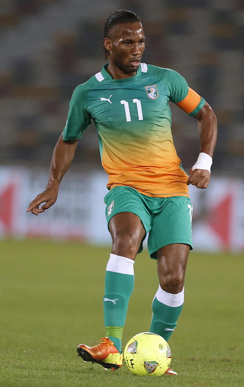 Napastnik WKS - Didier Drogba. /AFP