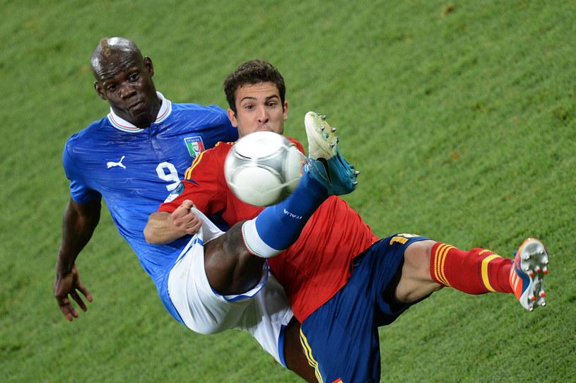 Napastnik włoskiej reprezentacji piłkarskiej Mario Balotelli /AFP