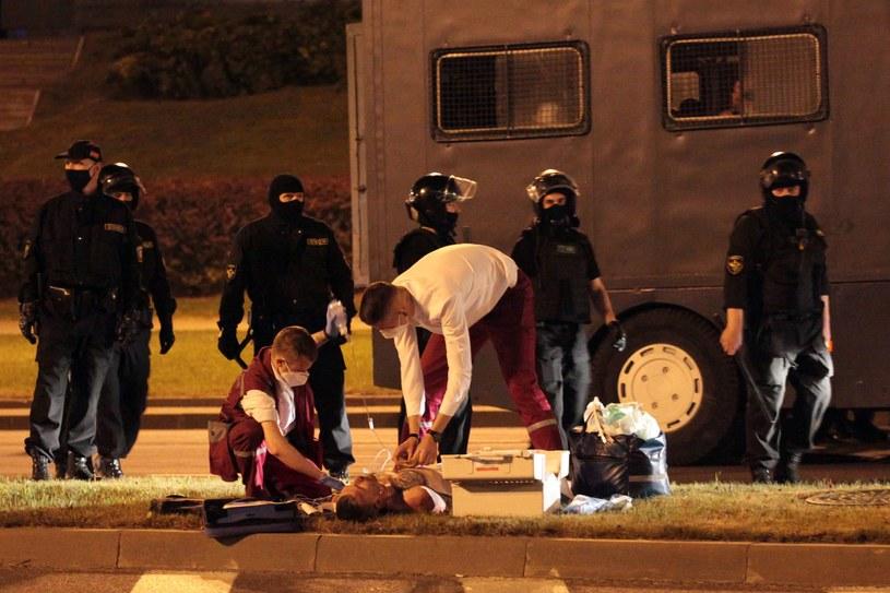 Napięcia na Bialorusi /AFP