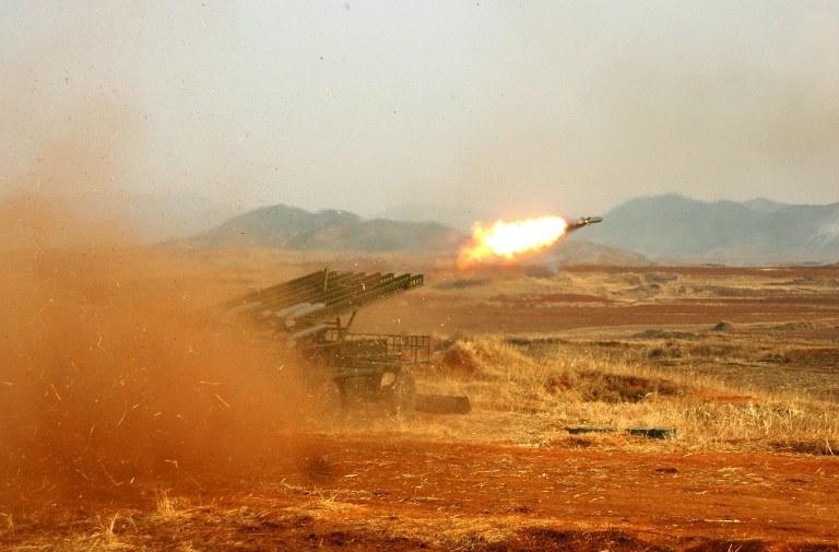 Napięcie na Pół. Koreańskim wciąż rośnie /AFP
