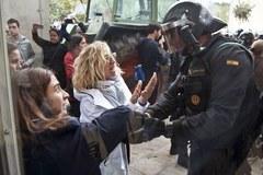 Napięta atmosfera na ulicach Katalonii