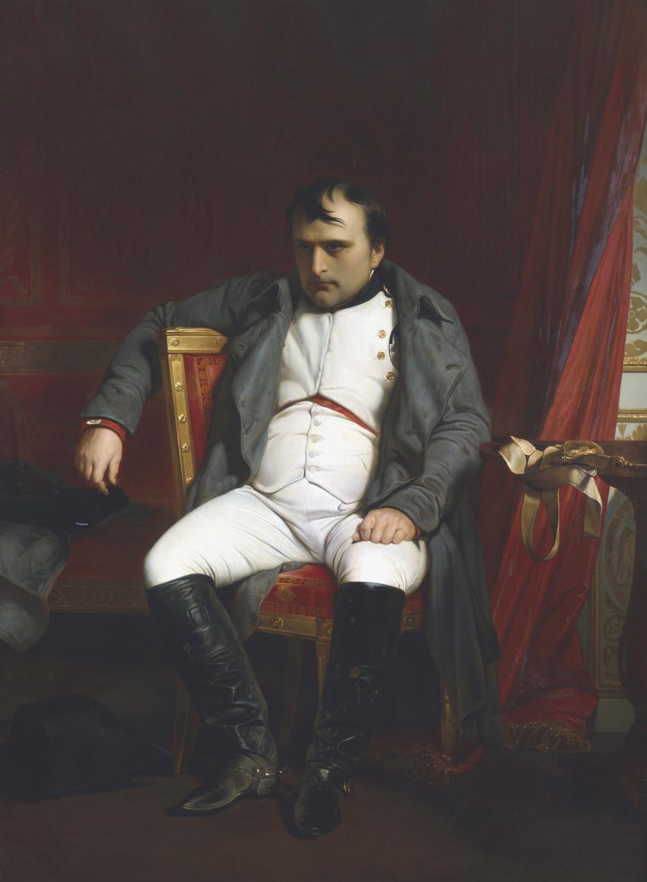 Napoleon Bonaparte na obrazie pędzla Paula Delaroche /DPA /PAP/EPA