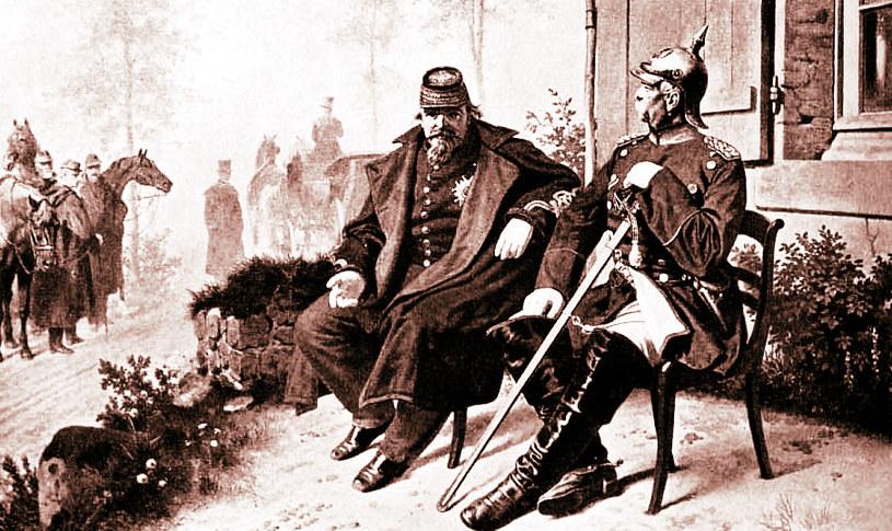 Napoleon III i Otto von Bismarck /materiały prasowe