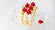 Napoleonki z maślanych ciastek