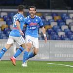 Napoli - Benevento Calcio 2-0 w 24. kolejce Serie A. Nieuznany gol Zielińskiego