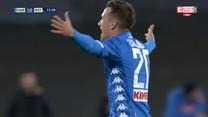 Napoli - Inter. Co za gol Zielińskiego! Polak odpalił pocisk na bramkę Interu (ZDJĘCIA ELEVEN SPORTS). WIDEO