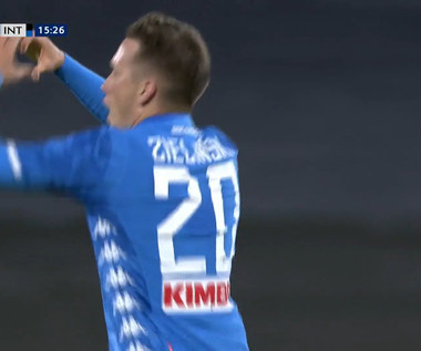 Napoli - Inter Mediolan 4-1 - skrót (ZDJĘCIA ELEVEN SPORTS). WIDEO