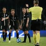 Napoli - PSG 1-1. Neymar: Sędzia powiedział mi coś, czego mu nie wolno