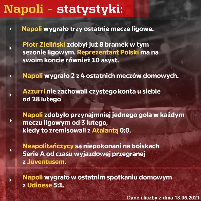 Napoli statystyki /materiały promocyjne