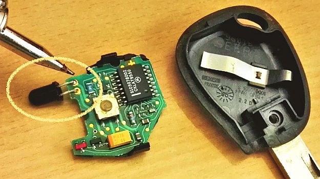 naprawa kluczyka /Motor