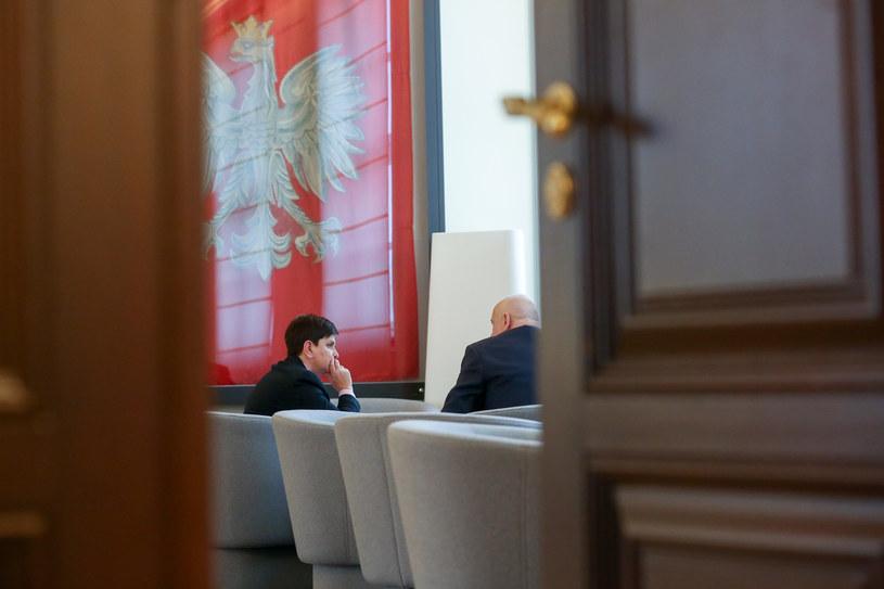 Narada Beaty Szydło i Joachima Brudzińskiego (arch.) /Andrzej Iwańczuk /Reporter