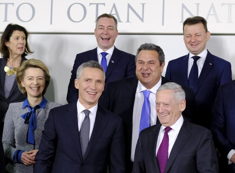 Narady ministrów obrony Sojuszu Północnoatlantyckiego w Brukseli /OLIVIER HOSLET /PAP/EPA