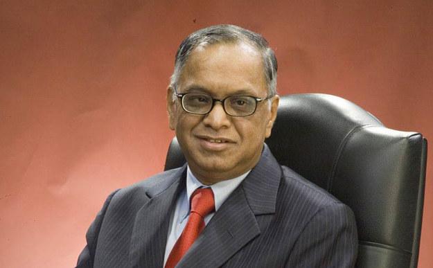 Narayana Murthy, założyciel firmy Infosys /&nbsp
