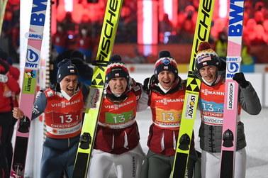 Narciarskie MŚ: Polacy na trzecim miejscu. Triumfują Niemcy
