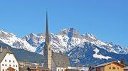 Narciarskie ostatki w Alpach