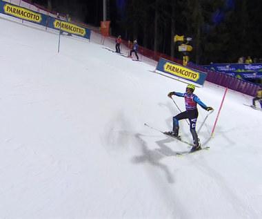 Narciarstwo alpejskie. Czekał całe zawody na swoją kolej. Przeszkodził mu przypadkowy pracownik. Wideo