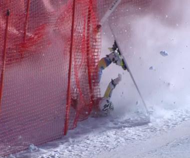 Narciarstwo Alpejskie. Groźny wypadek Norweżki w Val di Fassa. Wideo