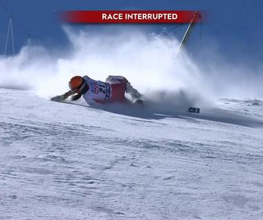 Narciarstwo Alpejskie. Poważny wypadek Rosiny Schneeberger. Wideo