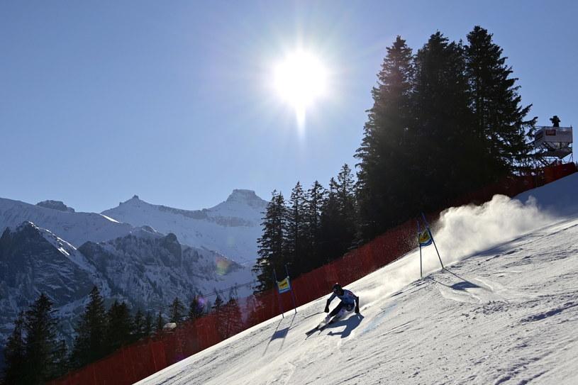 Narciarstwo alpejskie /JEAN-CHRISTOPHE BOTT /PAP