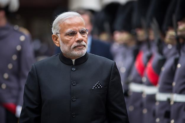 Narendra Modi, premier Indii. Fot. Rob Stothard /Getty Images/Flash Press Media