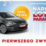 Narodowa loteria paragonowa: Znamy pierwszego zwycięzcę - Opel Astra trafił do Lęborka.