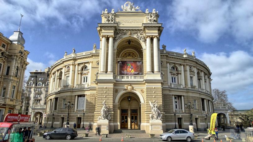 Narodowy Akademicki Teatr Opery i Baletu w Odessie - najstarszy teatr Odessy /East News