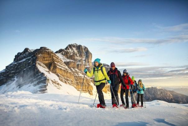 Narty, snowboard, nordic walking – we włoskich Alpach każdy znajdzie zajęcie dla siebie /materiały prasowe