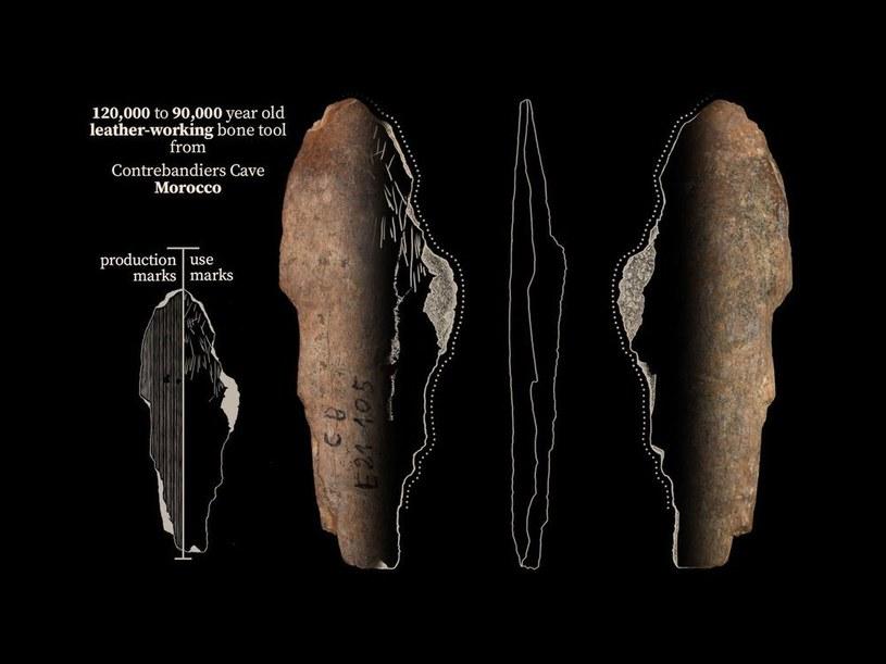 Narzędzia z jaskini Contrebandiers /materiały prasowe