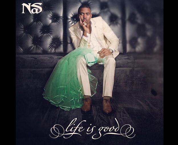 "Nas na okładce albumu ""Life Is Good"" /"