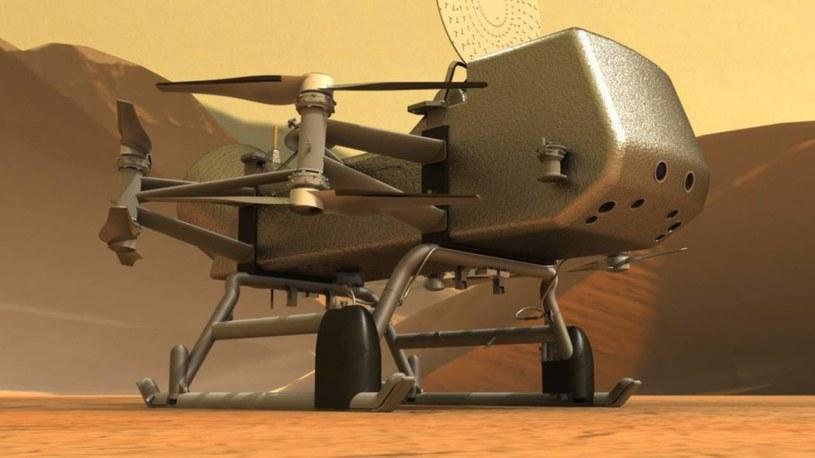 NASA Dragonfly /materiały prasowe