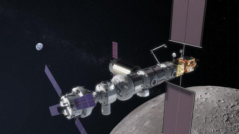 NASA Gateway - wizualizacja /Wikipedia