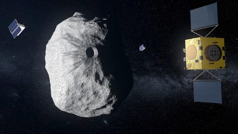 NASA już za 3 lata dokona próby zmiany orbity planetoidy zagrażającej Ziemi /Geekweek