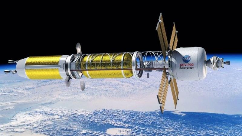 NASA od dawna myśli o napędzie jądrowym /materiały prasowe