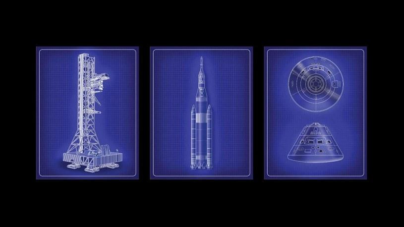 NASA Orion i SLS /materiały prasowe