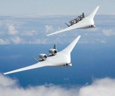 NASA prezentuje samoloty pasażerskie przyszłości
