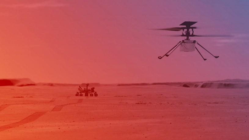 NASA przygotowuje się do lotu Ingenuity /materiały prasowe