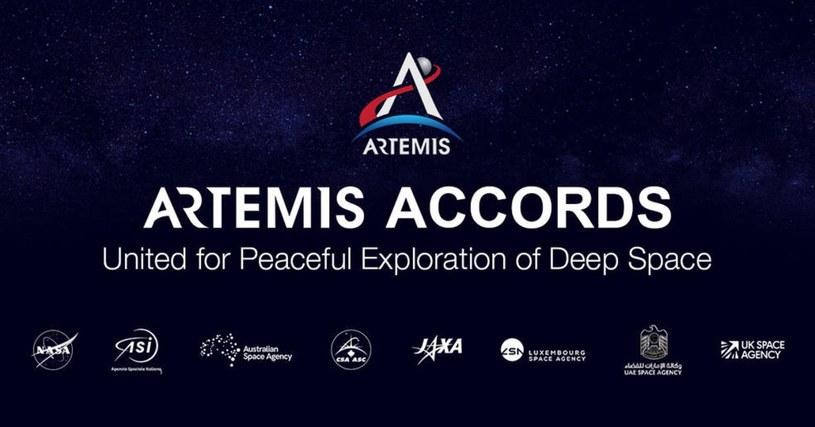 NASA rozpoczyna porozumienie Artemis /materiały prasowe