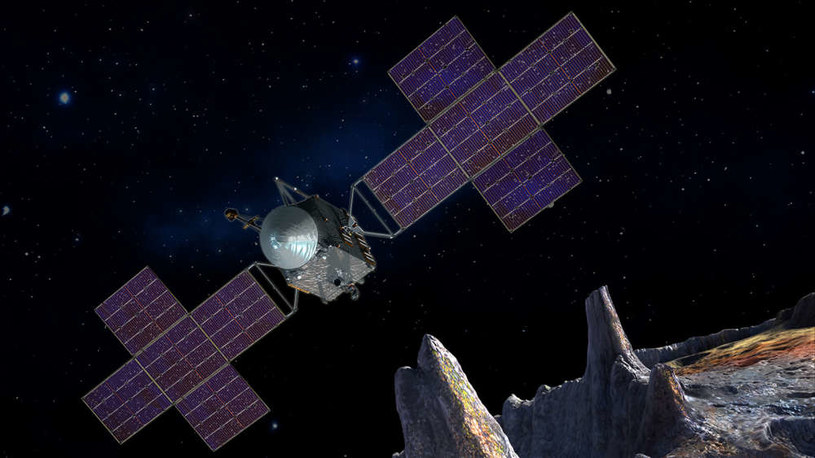 NASA szykuje misję na asteroidę Psyche /NASA
