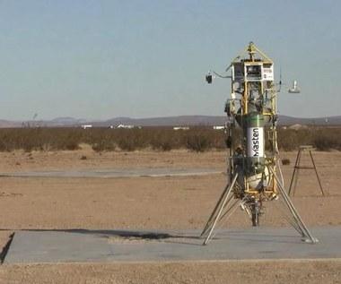 NASA testuje rakietę Xombie