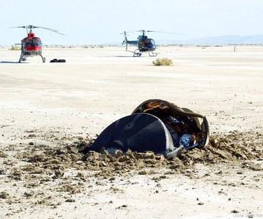 """NASA ujawnia zdjęcie """"latającego spodka"""". 14 lat temu rozbił się w Utah"""